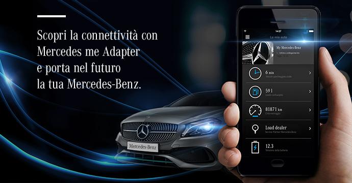 Scopri la connettività con Mercedes me Adapter e porta nel futuro la tua Mercedes-Benz.